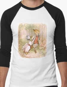 Jemima Puddleduck and the Fox Men's Baseball ¾ T-Shirt