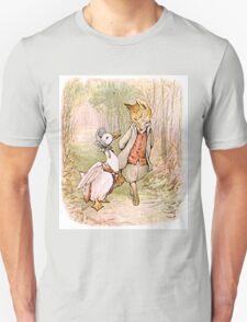 Jemima Puddleduck and the Fox Unisex T-Shirt