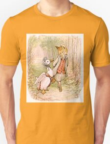 Jemima Puddleduck and the Fox Unisex T-Shirt