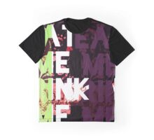 Eat Me Drink Me Popart Graphic T-Shirt