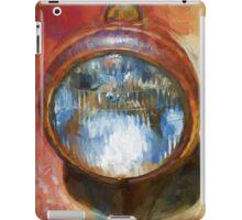 Old Headlamp II iPad Case/Skin