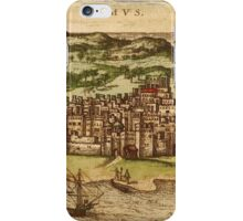 Hormus Vintage map.Geography Germany ,city view,building,political,Lithography,historical fashion,geo design,Cartography,Country,Science,history,urban iPhone Case/Skin