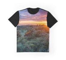 Sunset over island Ciovo Graphic T-Shirt