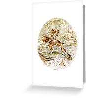 Mr. Jeremy Fisher by Beatrix Potter Greeting Card