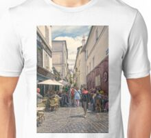 On the streets of Montmartre Unisex T-Shirt