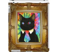 Psychedelic Business Cat iPad Case/Skin