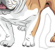 World's Best Bulldog Dad Sticker