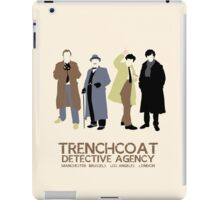 Trenchcoat Detective Agency iPad Case/Skin