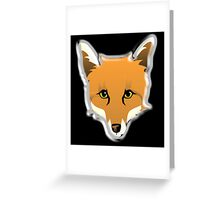 FOX, Foxy, Fox Face, Foxface, Wildlife, Urban Fox, Nature, Dog Greeting Card