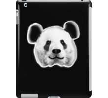 GIANT, PANDA, SMILEY, HAPPY, FACE, BEAR, WILDLIFE, ENDANGERED, Eco, Ecology, Nature iPad Case/Skin