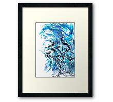 Tree Water Framed Print