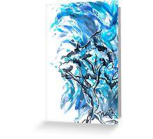 Tree Water Greeting Card