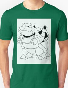 Black & White Blastoise T-Shirt