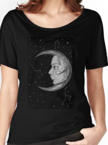 Moonlady Illustration Women's Relaxed Fit T-Shirt