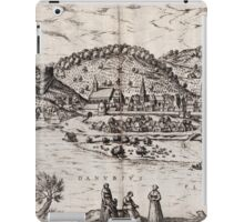 Bratislava Vintage map.Geography Slovakia ,city view,building,political,Lithography,historical fashion,geo design,Cartography,Country,Science,history,urban iPad Case/Skin