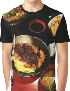 Comfort Food: Japanese Graphic T-Shirt