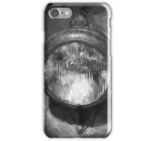 Old Headlamp II BW iPhone Case/Skin
