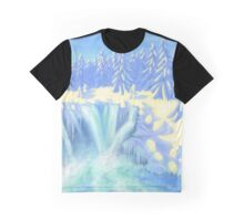 Winter Falls Graphic T-Shirt