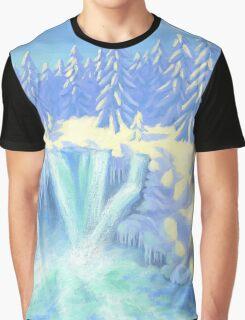 Winter Falls Graphic T-Shirt