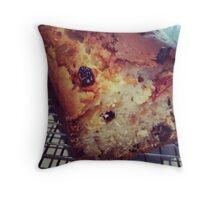 Comfort Food: Fruit Loaf Throw Pillow