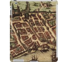 Bordeaux Vintage map.Geography France ,city view,building,political,Lithography,historical fashion,geo design,Cartography,Country,Science,history,urban iPad Case/Skin