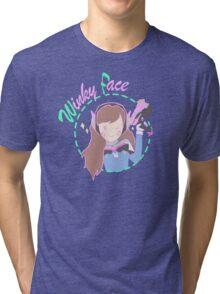 WinkyFace! Tri-blend T-Shirt