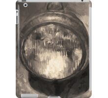 Old Headlamp II Toned iPad Case/Skin