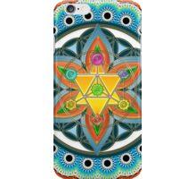 Merkaba, Chakras, Flower Of Life, Metatrons Cube, Sacred Geometry iPhone Case/Skin