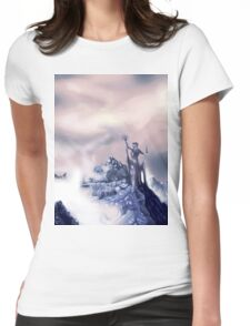 azura painting Womens Fitted T-Shirt