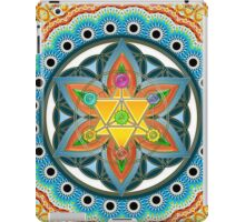 Merkaba, Chakras, Flower Of Life, Metatrons Cube, Sacred Geometry iPad Case/Skin