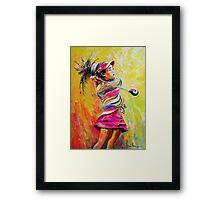 Lucy Li 02 Framed Print