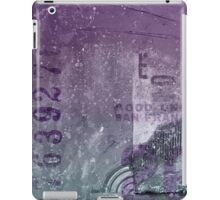Purple abstract iPad Case/Skin