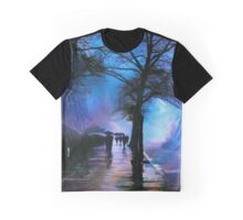 Shadows in the Rain Graphic T-Shirt