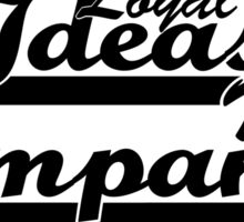 """Loyal To Ideas, Not Companies"" Merchandise Sticker"