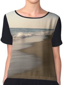 Serenity (Easter Morning on the Beach) Chiffon Top
