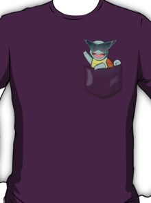 Pocket Squirtle Glasses T-Shirt