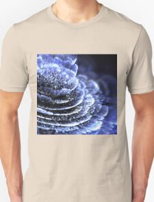 Blue Flower - Abstract Fractal Artwork Unisex T-Shirt