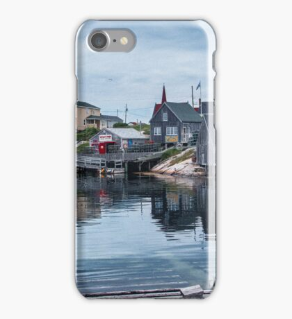 Pegggies Cove Nova Scotia  iPhone Case/Skin