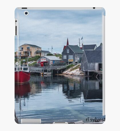 Pegggies Cove Nova Scotia  iPad Case/Skin