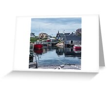Pegggies Cove Nova Scotia  Greeting Card