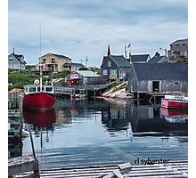 Pegggies Cove Nova Scotia  Photographic Print