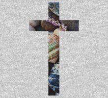 Christian Cross One Piece - Long Sleeve