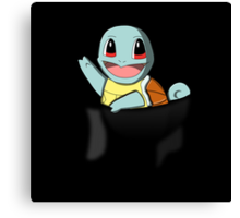 Pocket Squirtle Canvas Print