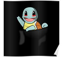 Pocket Squirtle Poster