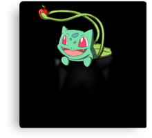 Pocket Bulbasaur Canvas Print