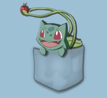 Pocket Bulbasaur Kids Clothes