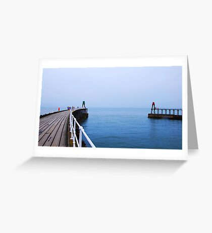 The Calm of the Ocean Greeting Card