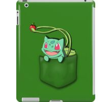 Pocket Bulbasaur iPad Case/Skin
