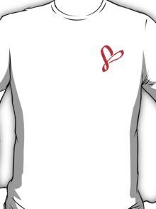 Simplistic Pixel Heart T-Shirt