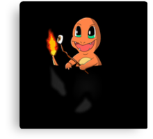 Pocket Charmander Canvas Print